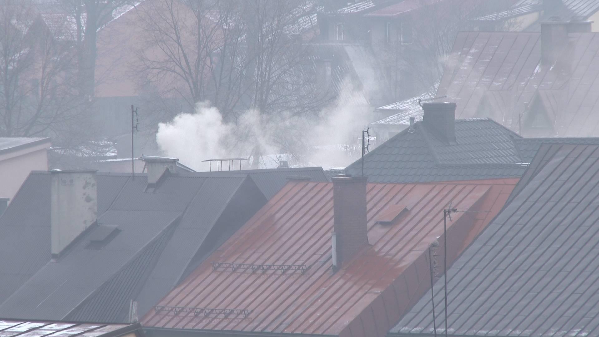 Jakość powietrza w Nowym Targu - jest bardzo źle