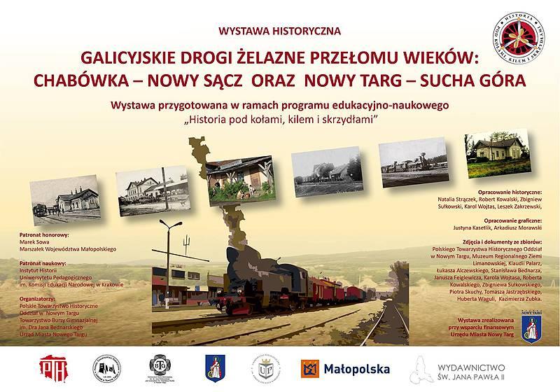 118A czyli galicyjska kolej żelazna Nowy Targ – Sucha Góra