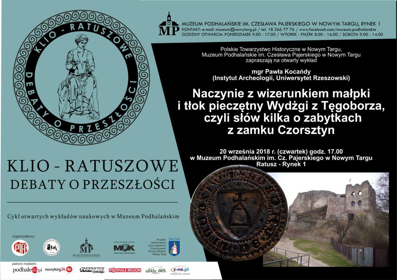 Słów kilka o zabytkach z zamku Czorsztyn - wykład w Muzeum Podhalańskim