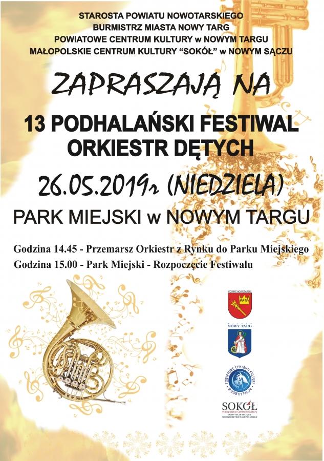 XIII Festiwal Orkiestr Dętych
