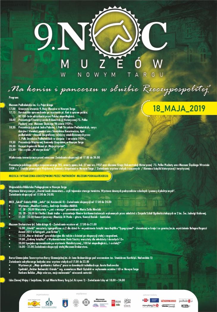 9 Noc Muzeów W Nowym Targu Nowytarg24tv