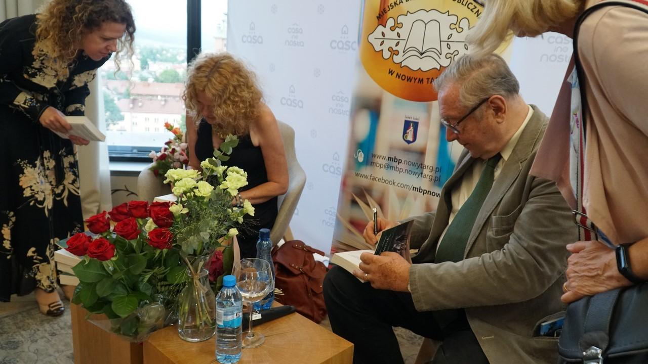 Krzysztof Zanussi gościem Miejskiej Biblioteki Publicznej w Nowym Targu