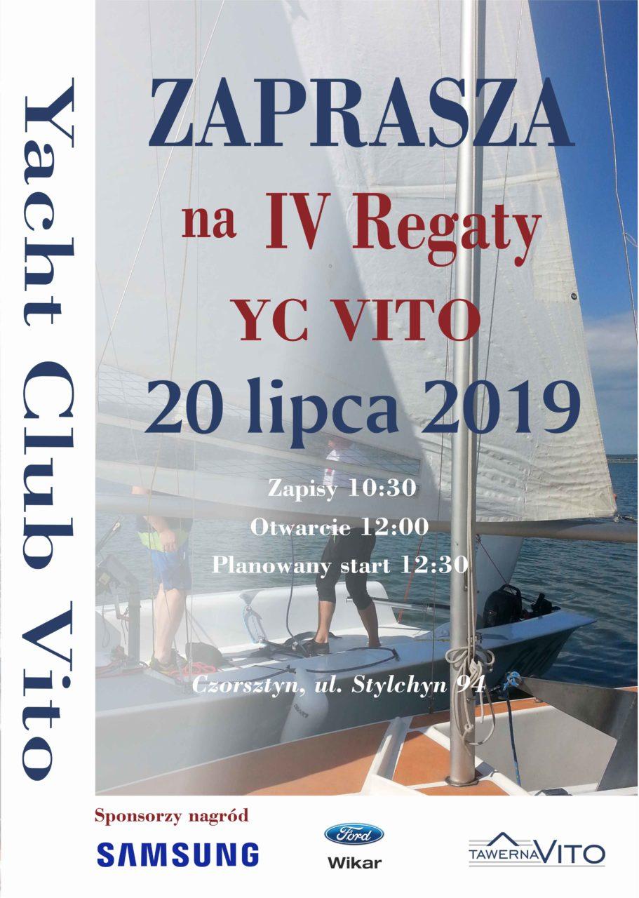 IV Otwarte Regaty Yacht Clubu VITO