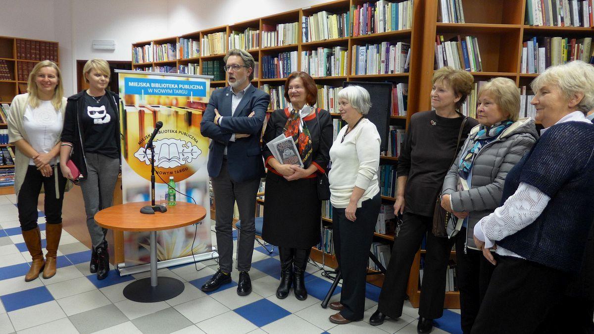 Biblioteczne spotkanie – był Michał Rusinek, będzie Ewa Dałkowska