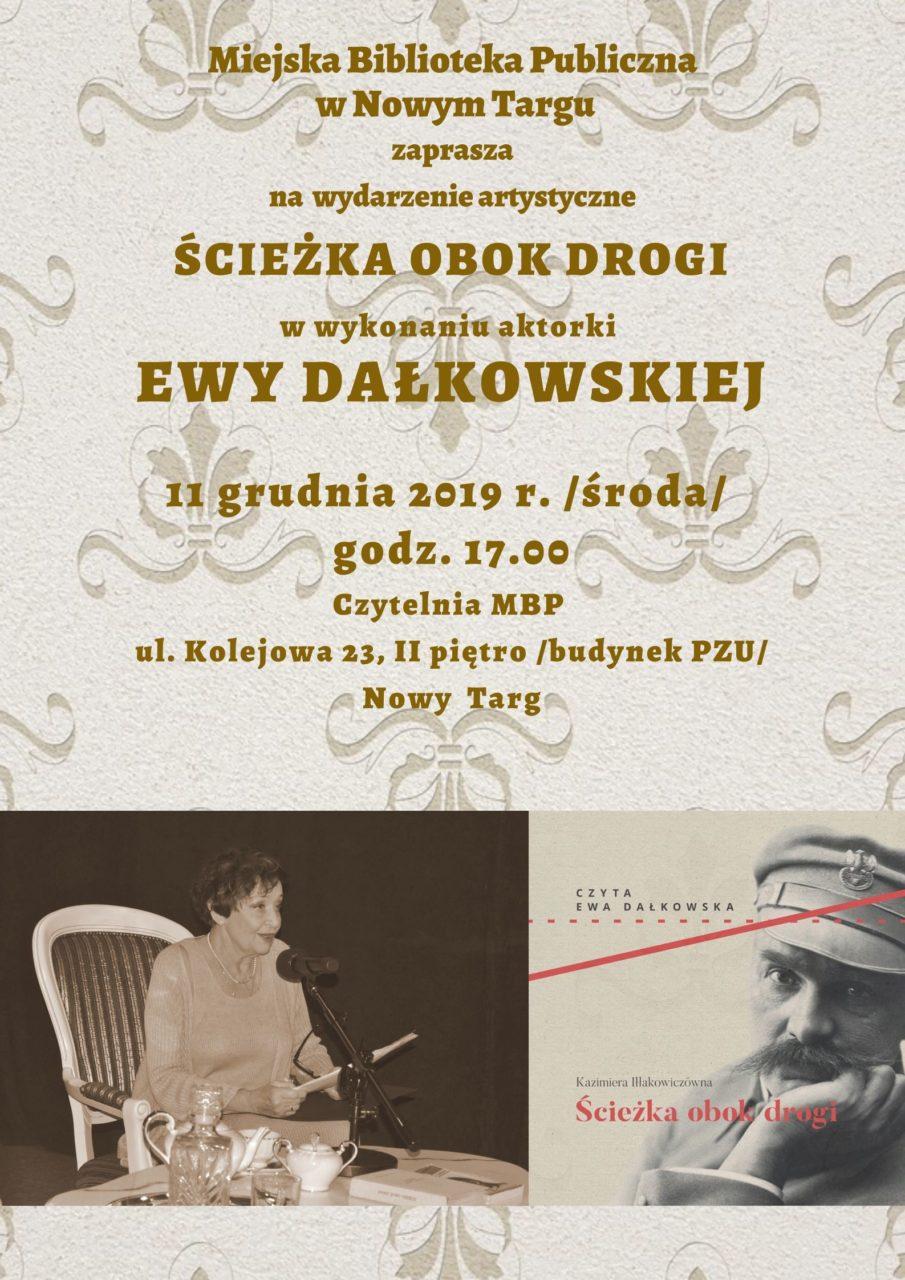 Ewa Dałkowska przeczyta wspomnienia o Piłsudskim