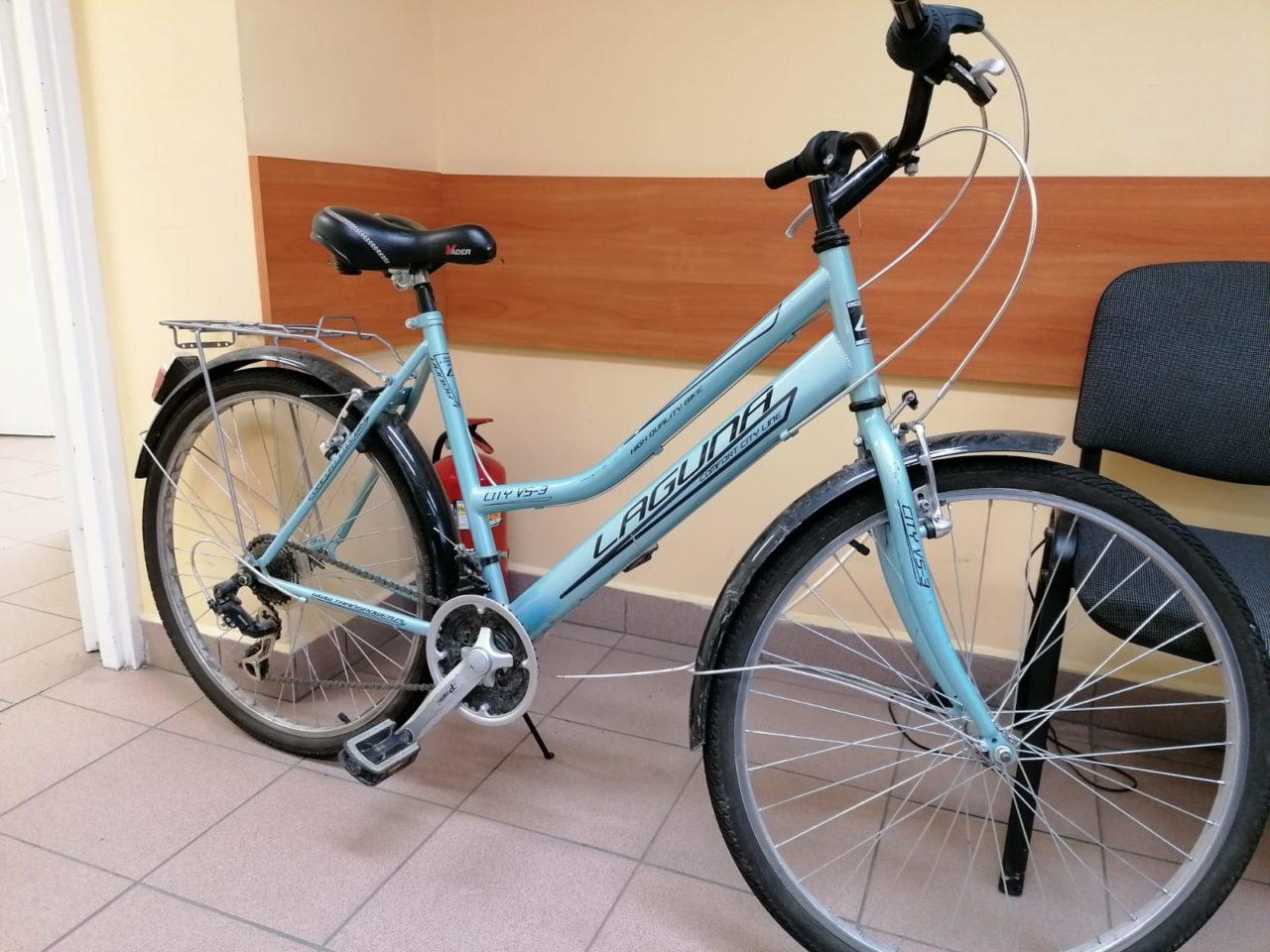 Poszukiwany właściciel roweru z Rabki