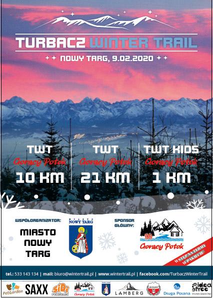 Turbacz Winter Trail - już w niedzielę, 9 lutego 2020