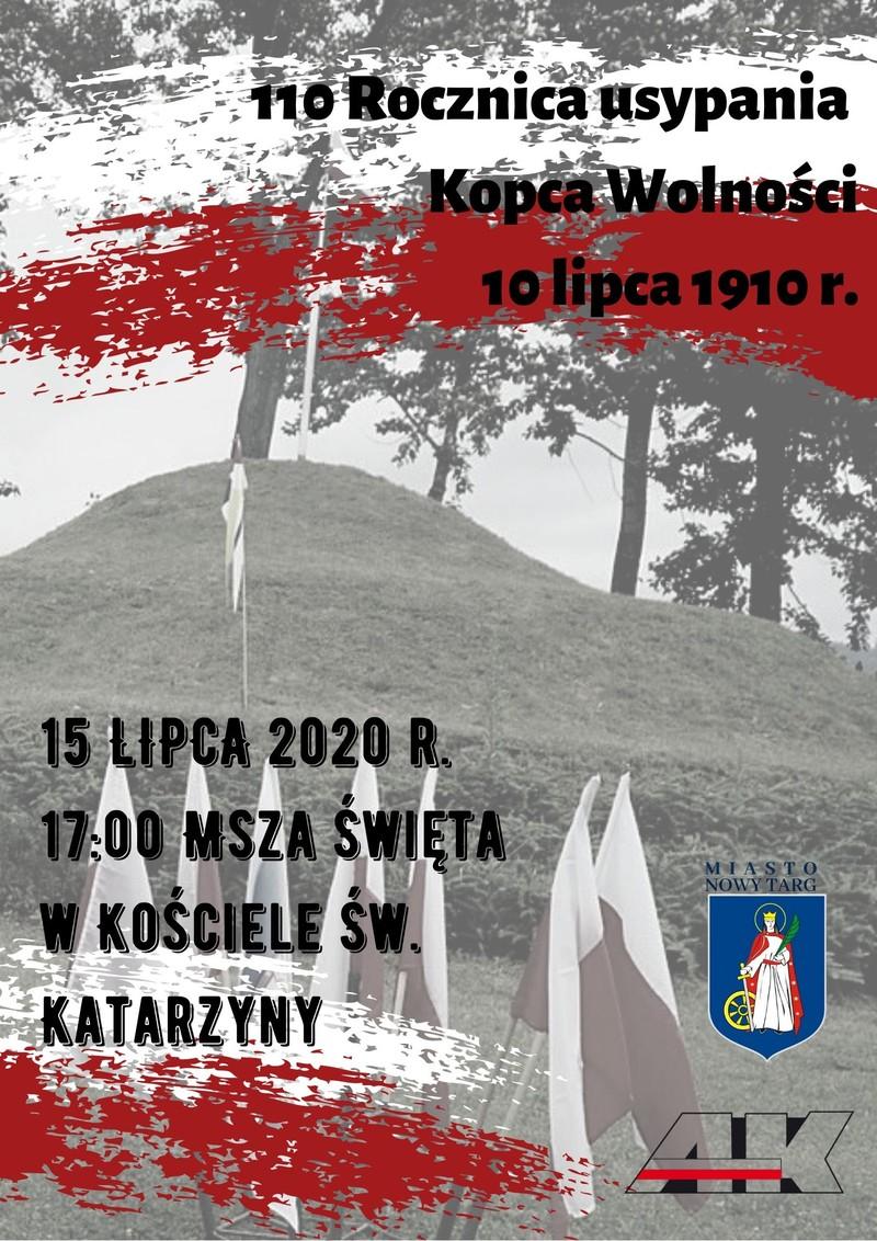 Jubileusz 110-lecia powstania Kopca w Nowym Targu