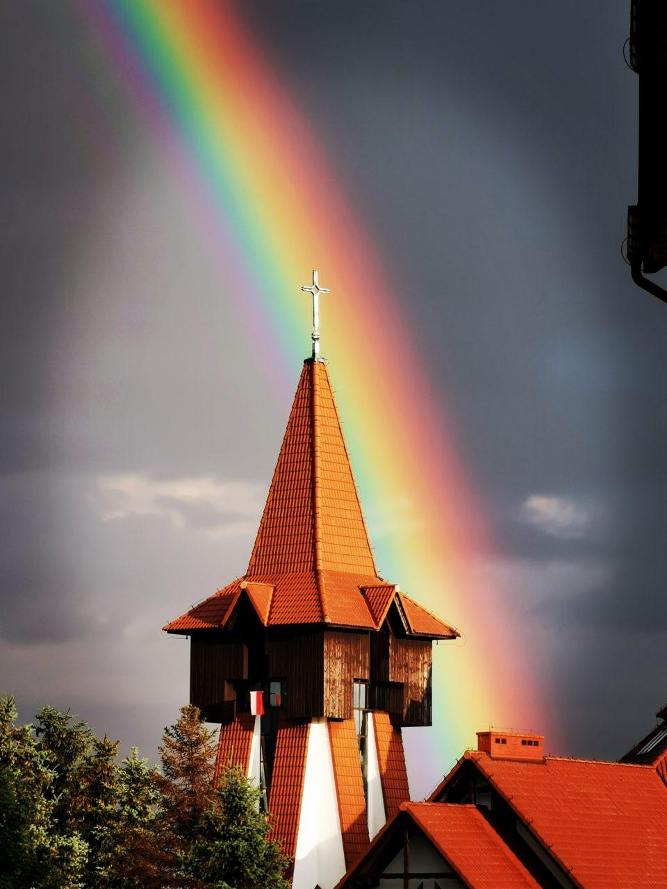 W Nowym Targu - znów podwójna tęcza