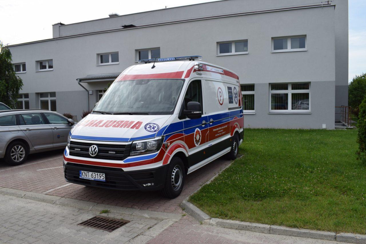 Nowe karetki dla nowotarskiego szpitala