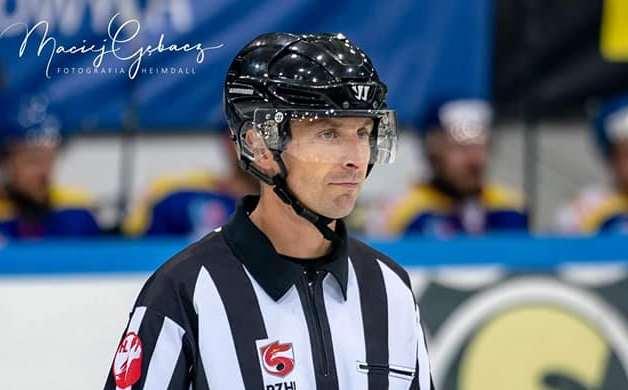 Przemysław Kępa kończy karierę sędziego hokejowego