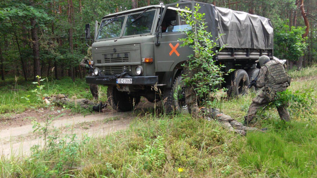 Wspólne ćwiczenia małopolskich komandosów i