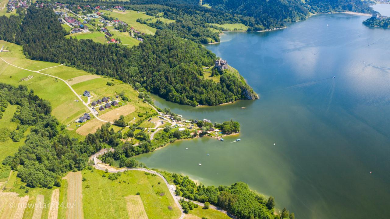 Akcja ratunkowa na jeziorze czorsztyńskim