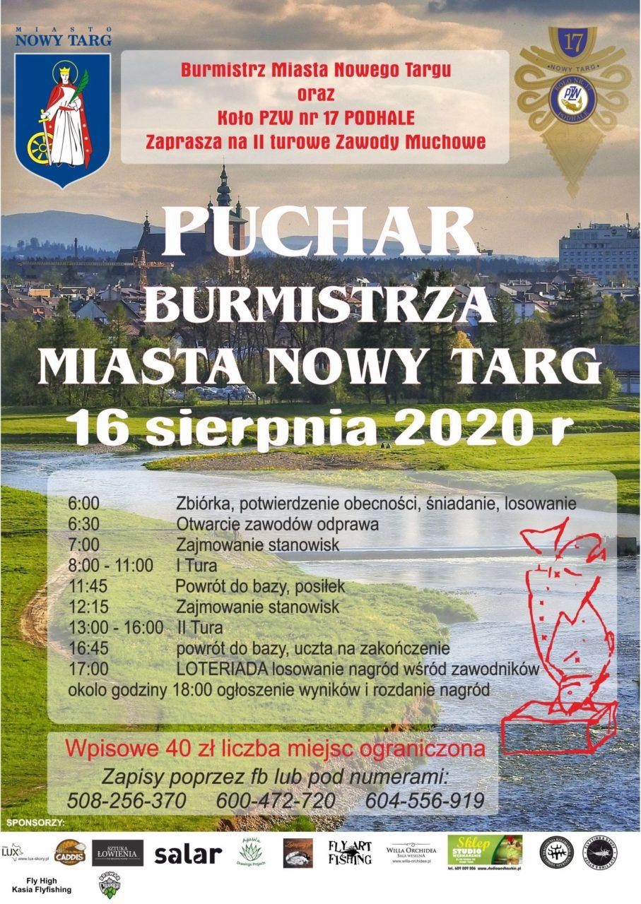 Zawody Wędkarskie o Puchar Burmistrza Miasta Nowego Targu
