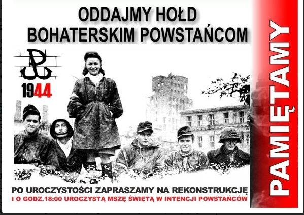 1. sierpnia. Hołd dla walczącej Warszawy