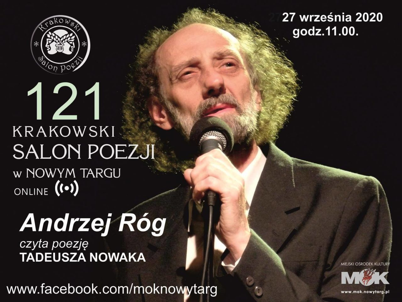 121. Krakowski Salon Poezji w Nowym Targu - online