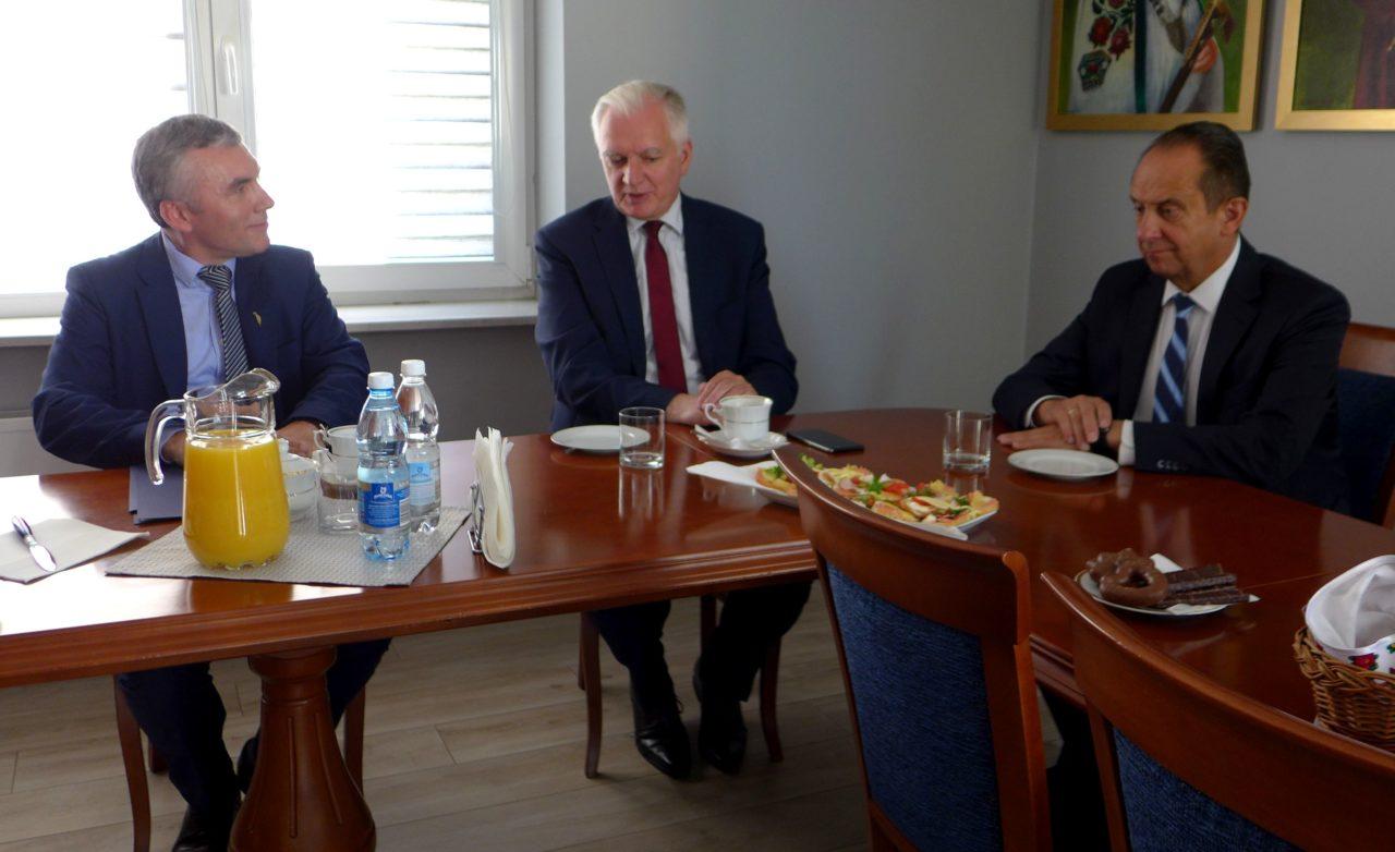 Jarosław Gowin – z wizytą i 3-milionową dotacją dla PPUZ