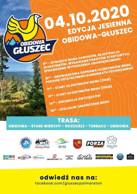 Obidowa Głuszec Półmaraton - edycja jesienna