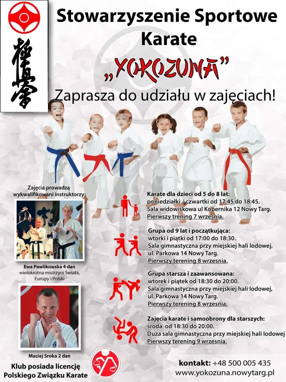 Yokozuna zaprasza do udziału w zajęciach