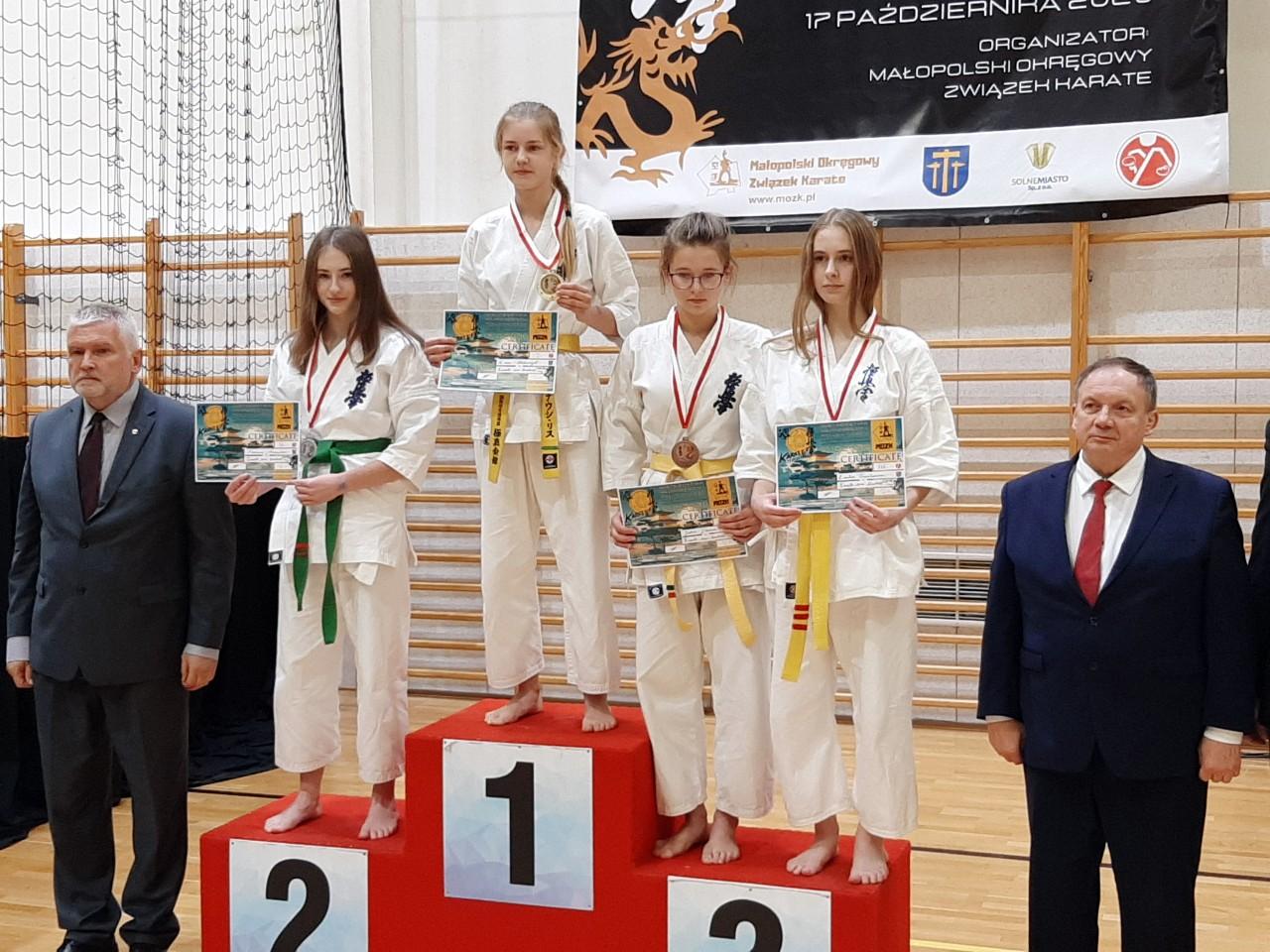 Sukces Zuzanny Mroczki w Mistrzostwach Karate Kyokushin