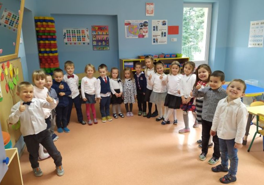 Dzień Nauczyciela w Przedszkolu nr 4 w Nowym Targu