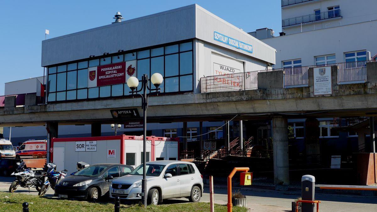 Podhalański szpital – w sytuacji kryzysowej