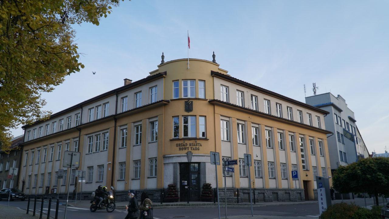 Funkcjonowanie Urzędu Miasta w Nowym Targu