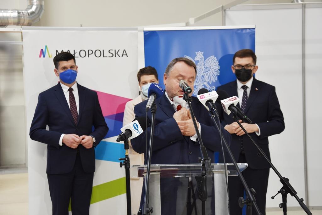 Przedstawiono koncepcję wykorzystania potencjału małopolskich szpitali tymczasowych