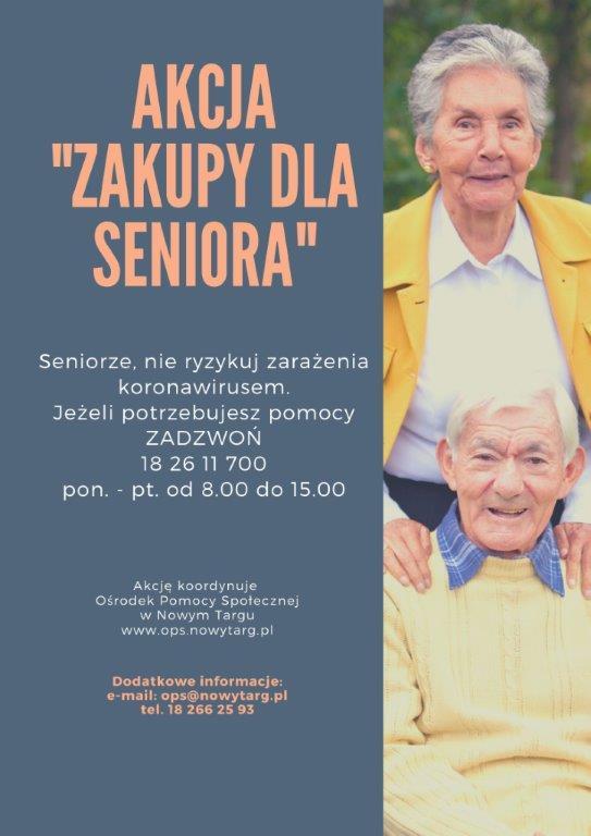 Zakupy dla seniora, pomoc prawna i psychologiczna - OPS wspiera seniorów, by ograniczali wyjścia z domu