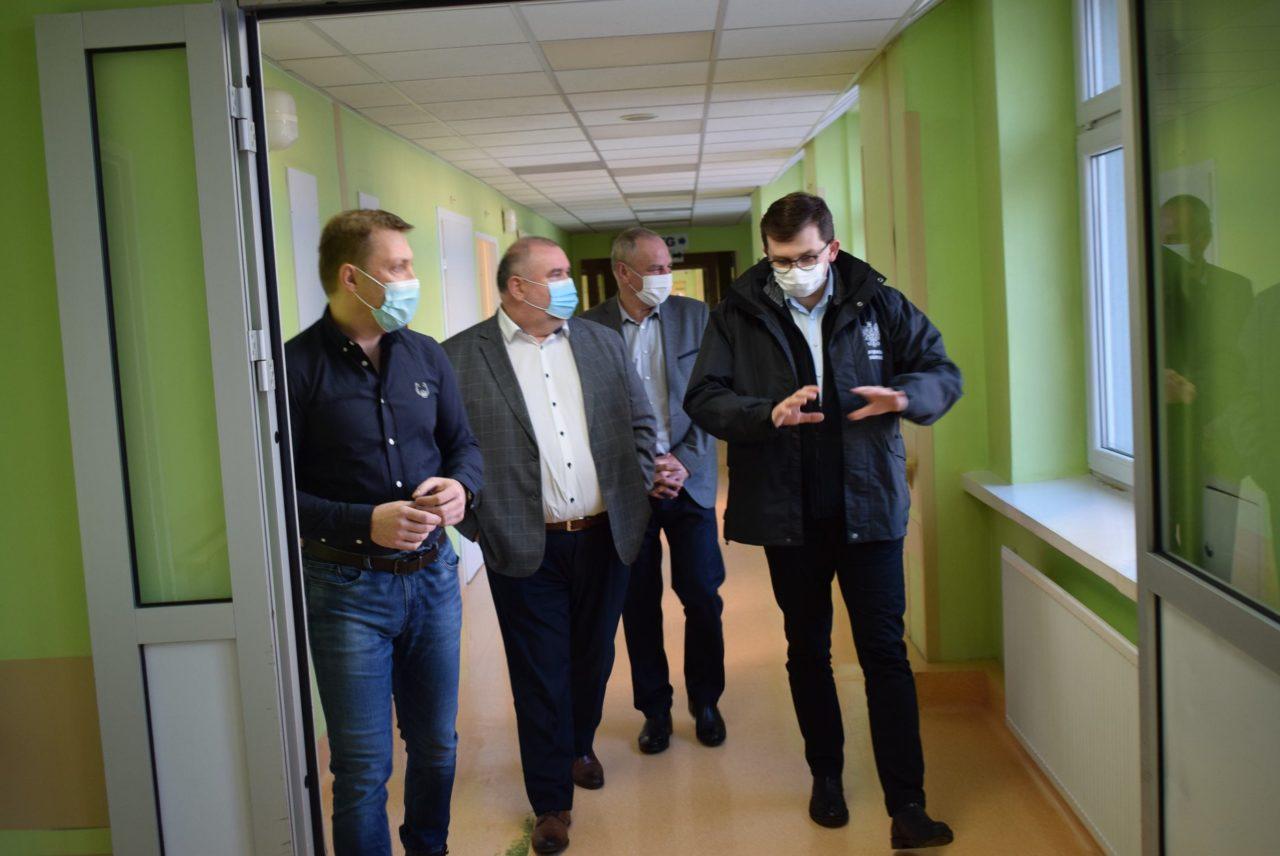 Wojewoda małopolski odwiedził dziś szpital w Nowym Targu