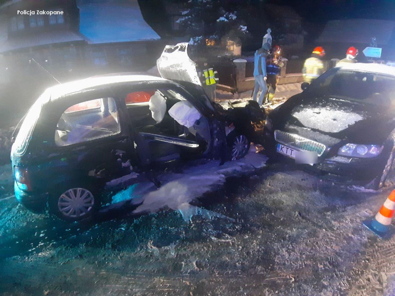 Tylko wczoraj na tatrzańskich drogach doszło do czterech poważnych zdarzeń drogowych