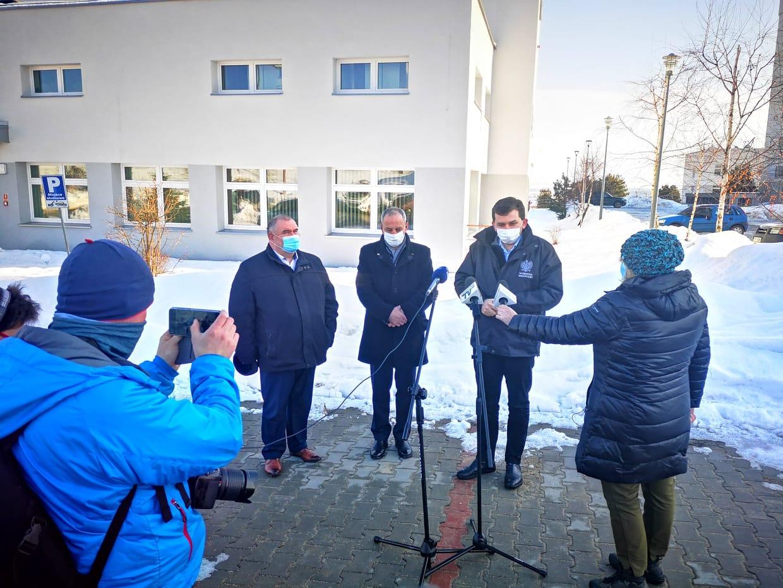 Szpital w Nowym Targu gotowy przyjąć pacjentów ze Słowacji