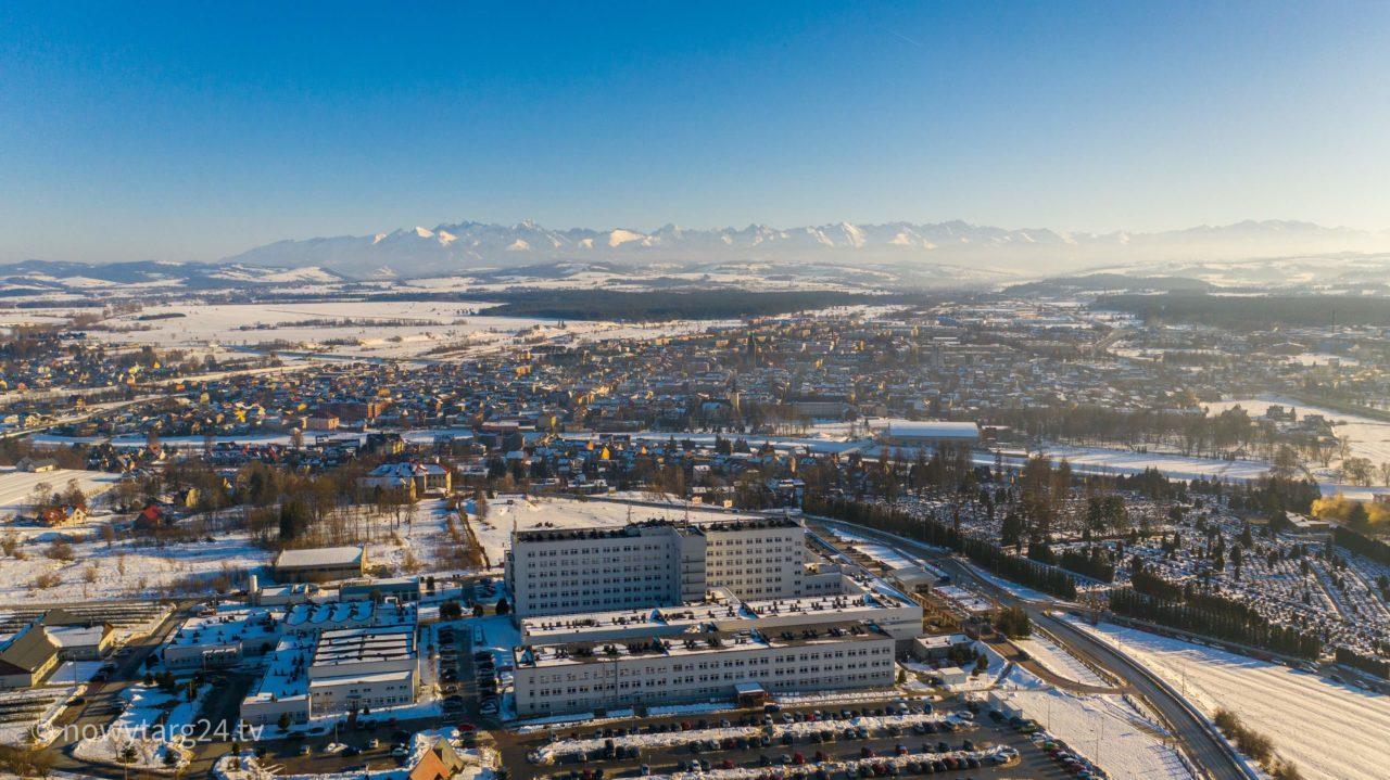 Nowotarski szpital przyjmie 10 pacjentów ze Słowacji