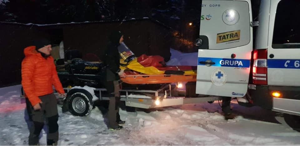 Zimowe szkolenie ratowników