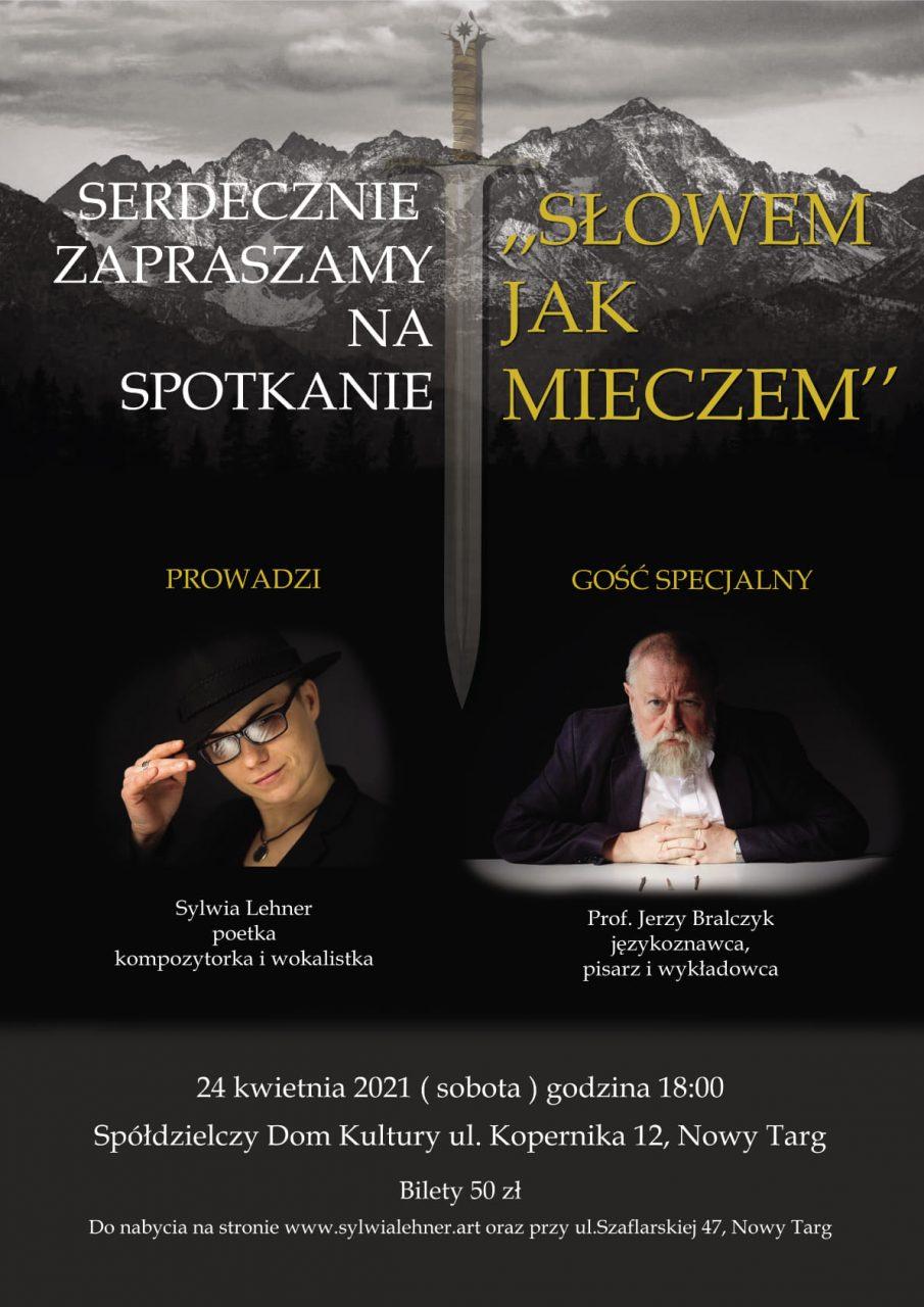 Spotkanie z prof. Jerzym Bralczykiem - w kwietniu w SDK w Nowy Targu
