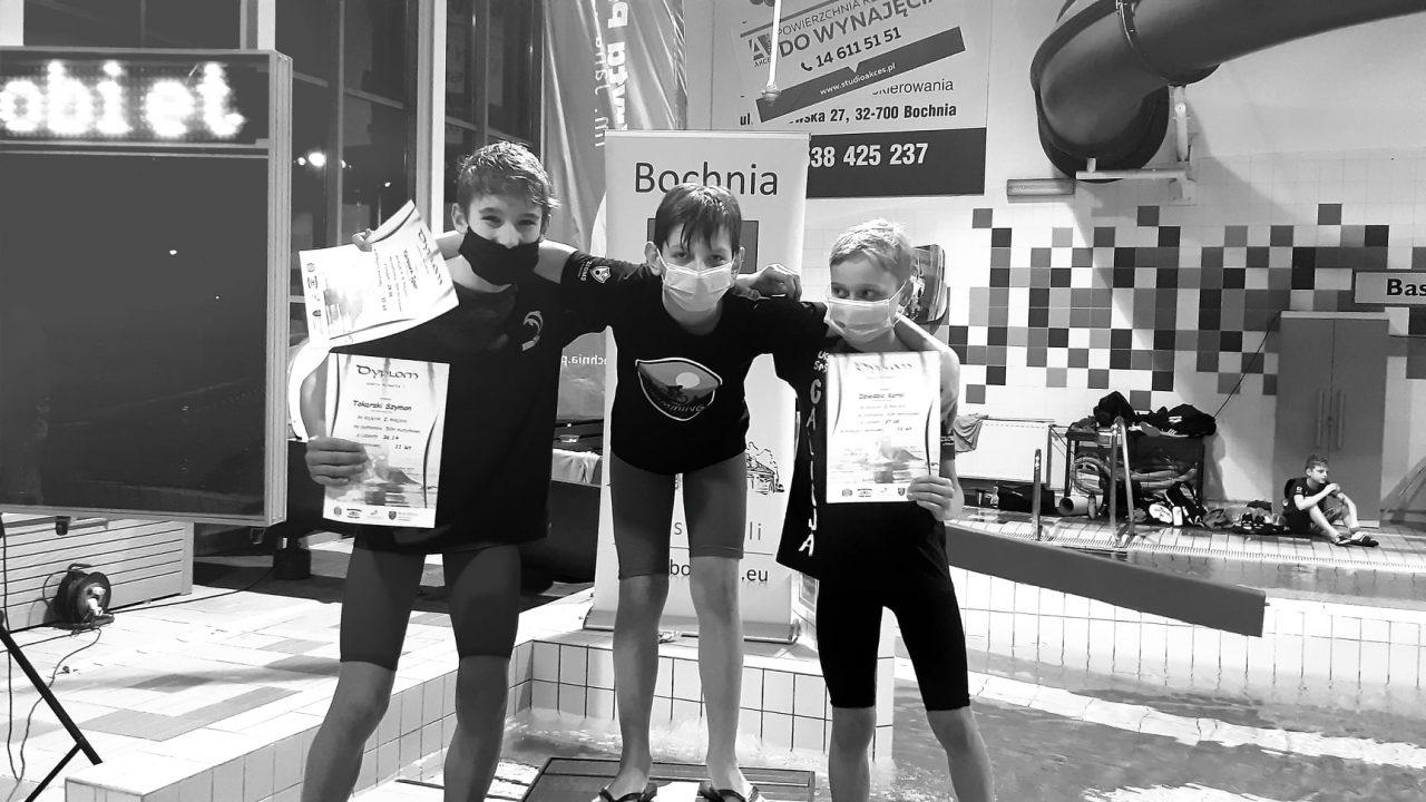 Kolejne sukcesy zawodników UKS Delfin. Z Bochni przywieźli aż 10 medali