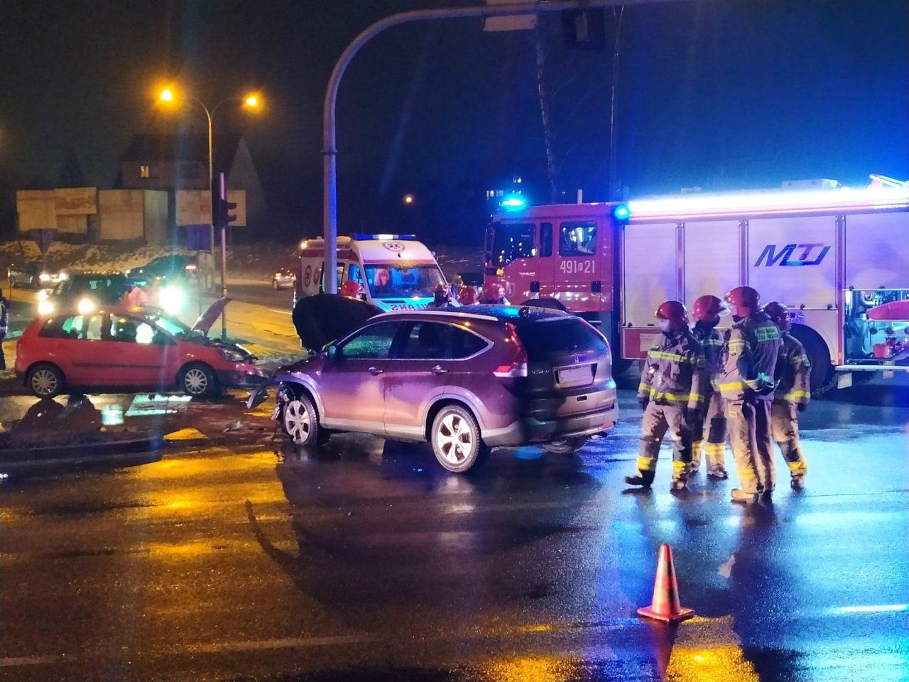 Poważny wypadek w Nowym Targu