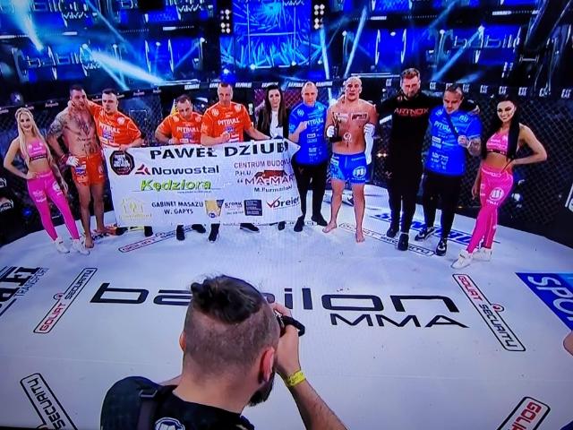 Kolejne zwycięstwo na gali Babilon MMA