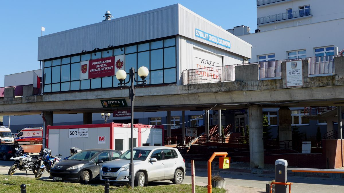 Pierwszy słowacki pacjent – nie dojechał…