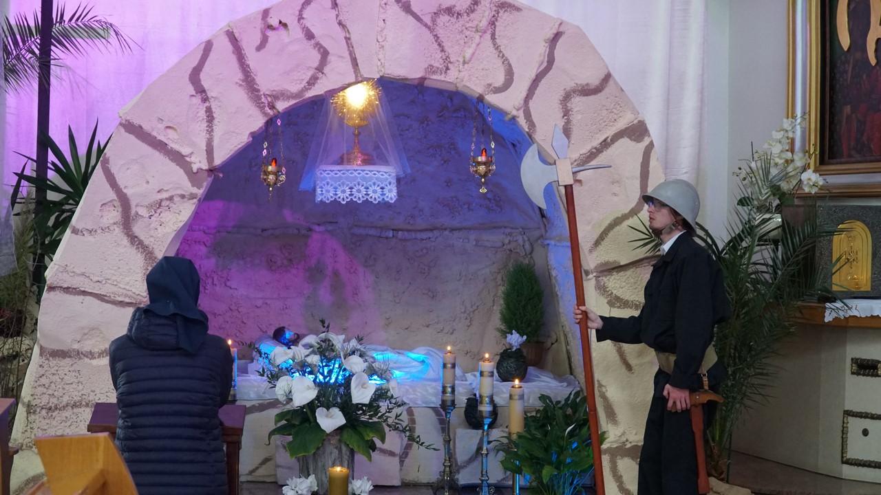 Groby Pańskie w kościołach Nowego Targu