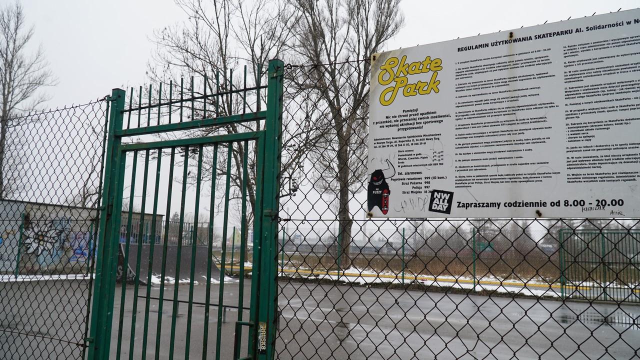 Skate Park na razie zamknięty