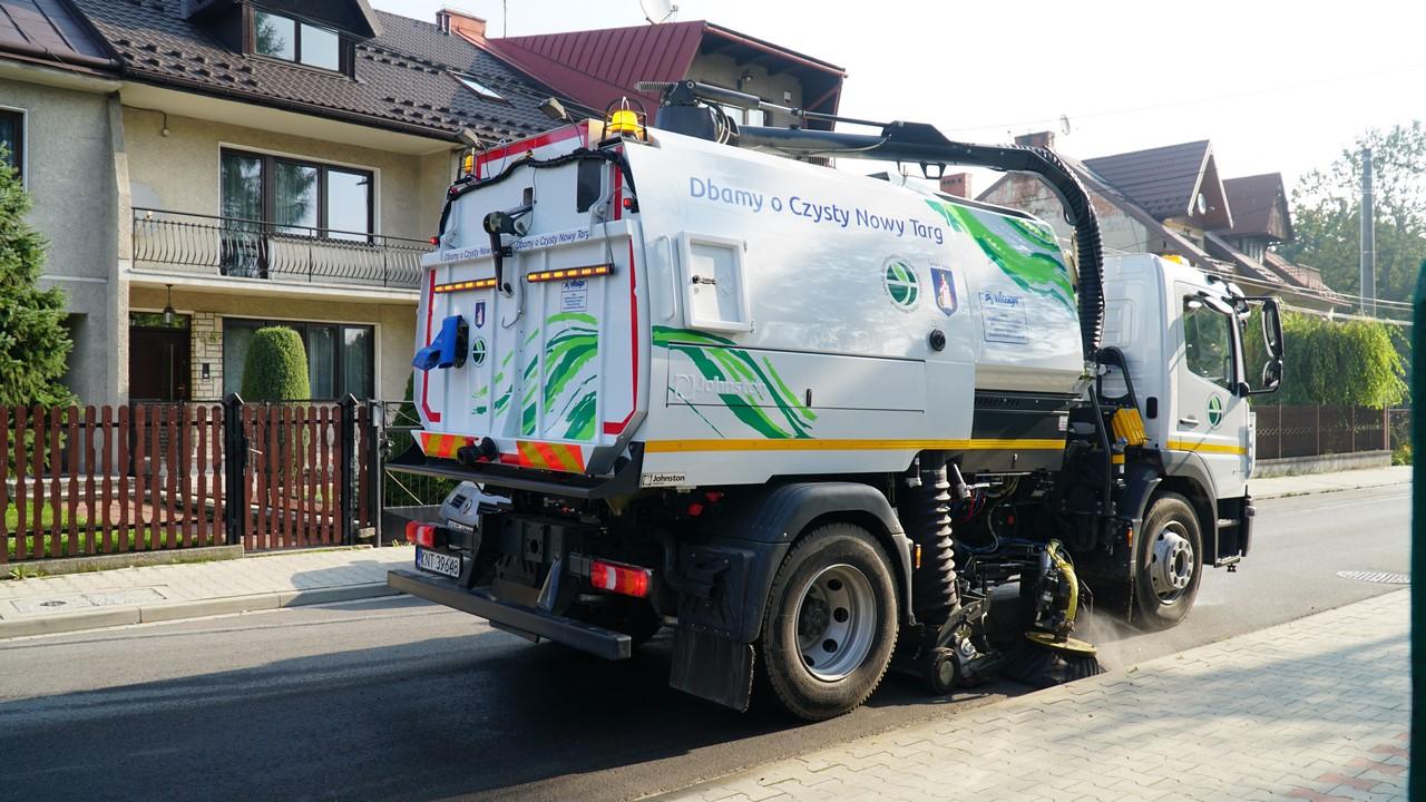 Harmonogram sprzątania ulic w mieście
