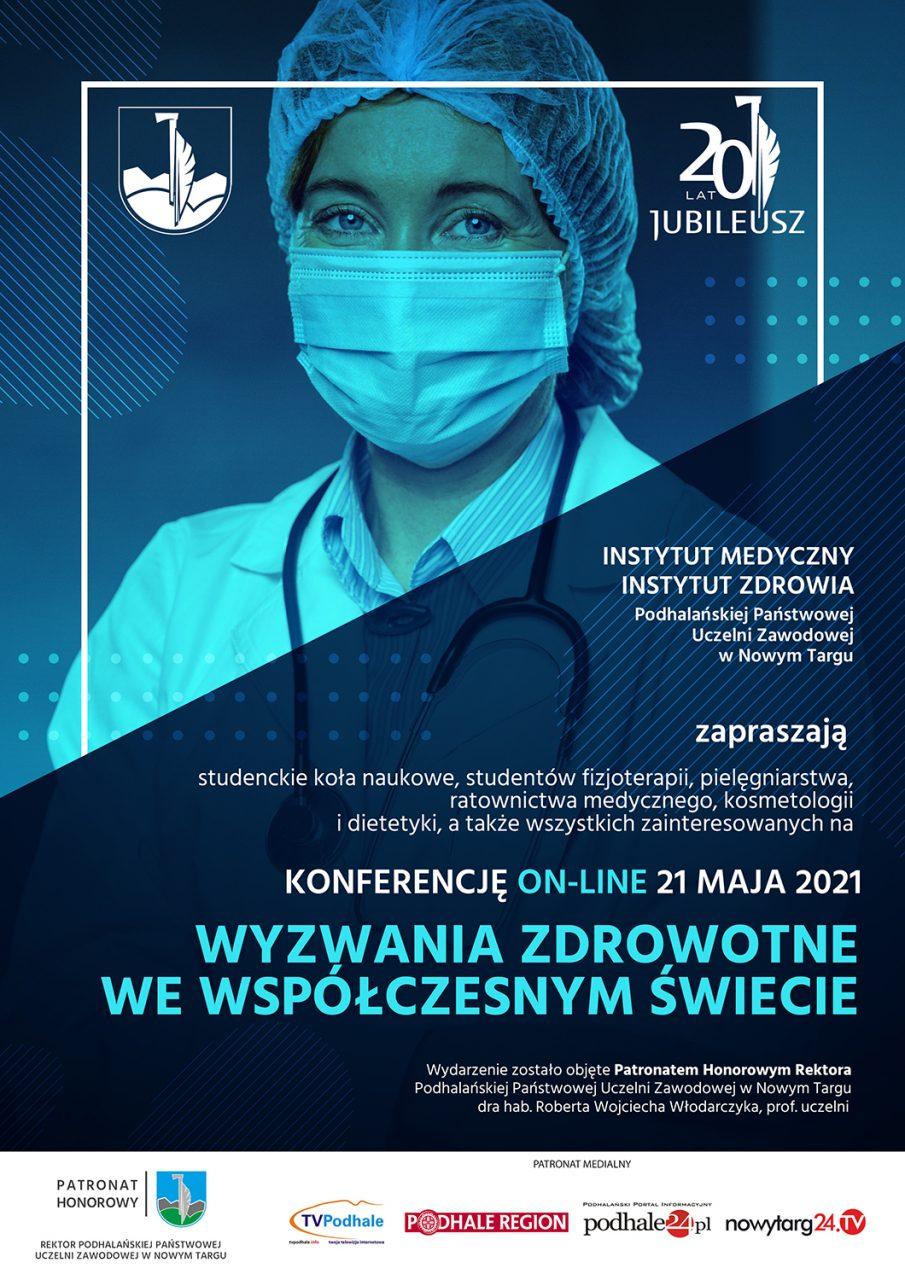Wyzwania zdrowotne we współczesnym świecie - konferencja PPUZ