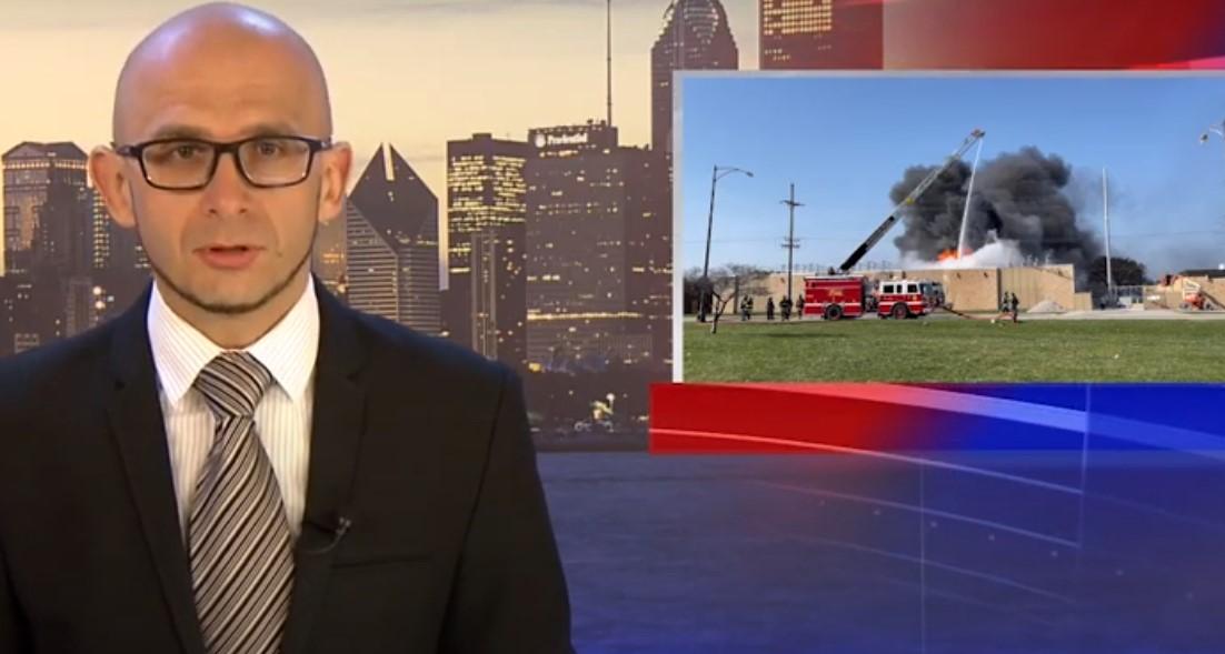 Pożar w Norridge