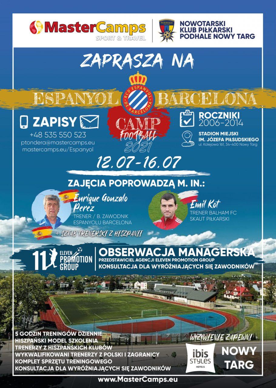 Międzynarodowy obóz piłkarski dla dzieci i młodzieży