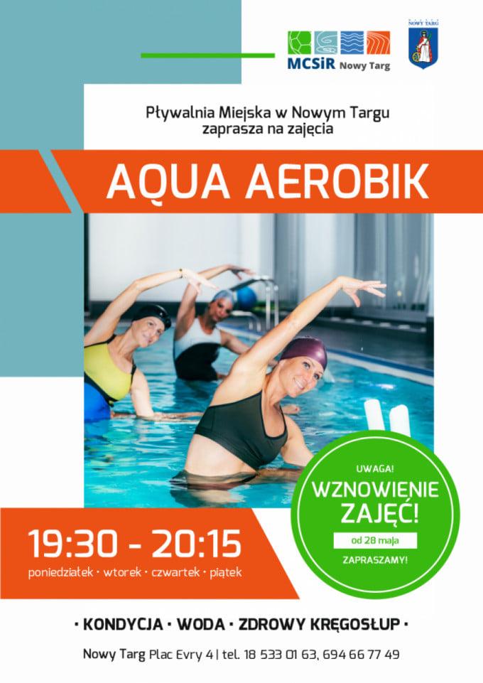 Powraca Aqua Aerobik na miejskiej pływalni