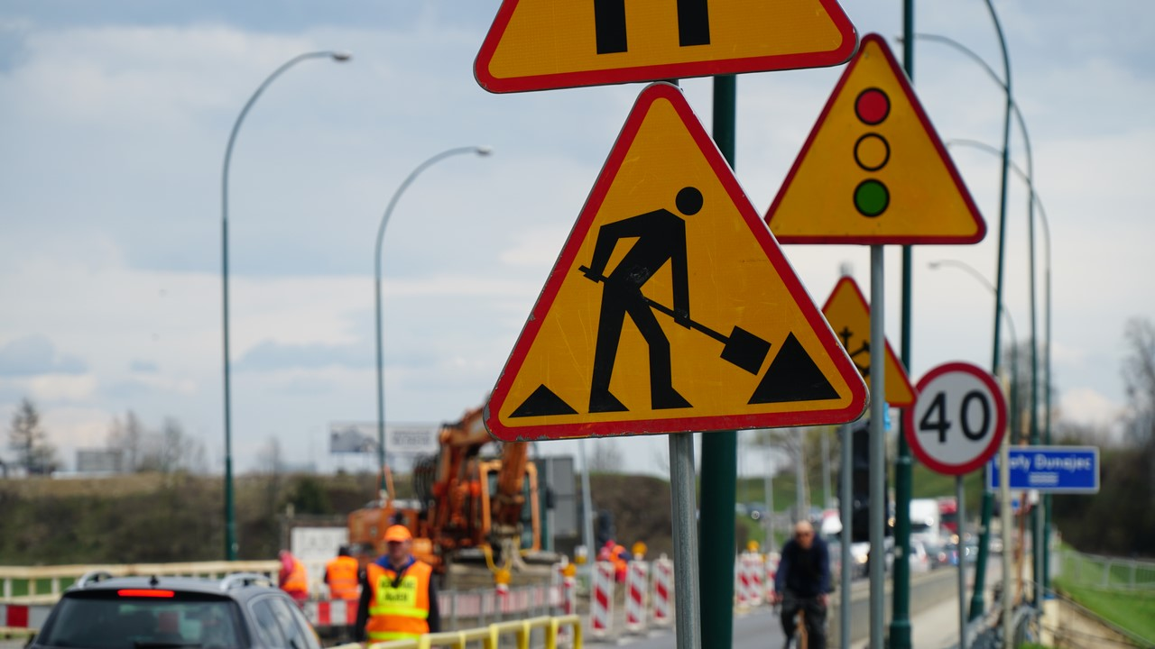 Uwaga remont mostu! Utrudnienia w ruchu