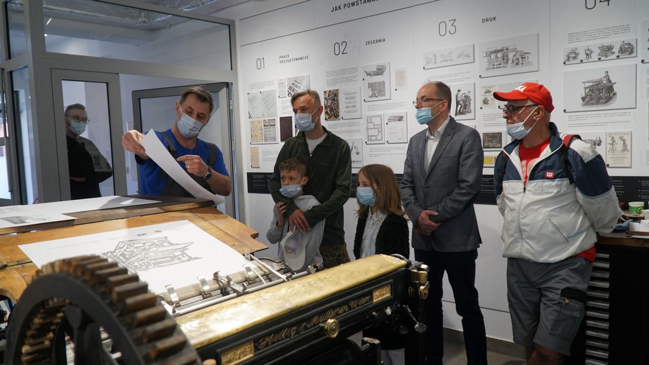10. Noc Muzeów w Nowym Targu - z maszyną drukarską w roli głównej