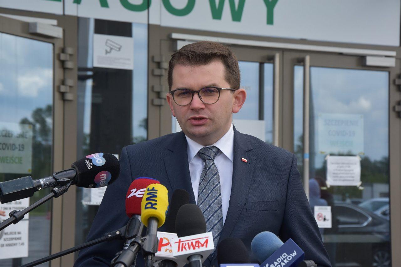 Szpital tymczasowy w EXPO Kraków kończy swoją działalność