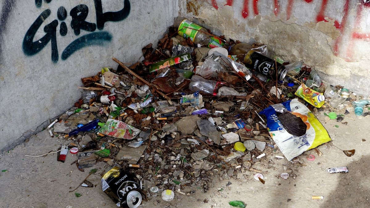 Sprzątanie śmieci – syzyfowa praca…